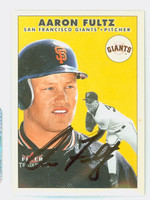 Aaron Fultz AUTOGRAPH 2000 Fleer Tradition Giants 