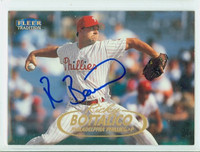 Ricky Bottalico AUTOGRAPH 1998 Fleer Tradition Phillies 