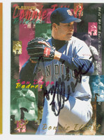 Donnie Elliott AUTOGRAPH 1995 Fleer Padres 