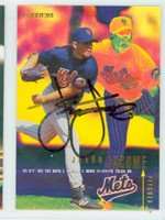 Jason Jacome AUTOGRAPH 1995 Fleer Mets 