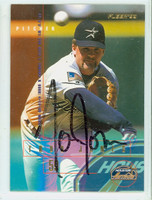 Todd Jones AUTOGRAPH 1995 Fleer Astros 