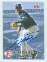 Anastacio Martinez AUTOGRAPH 2002 Fleer FUTURE Red Sox 