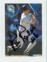 Rich Renteria AUTOGRAPH 1994 Fleer Marlins 