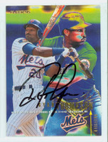 Ryan Thompson AUTOGRAPH 1995 Fleer Mets 