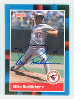 Mike Boddicker AUTOGRAPH 1988 Donruss Orioles 