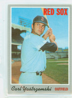 1970 Topps Baseball 10 Carl Yastrzemski Boston Red Sox Very Good to Excellent