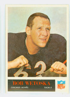 1965 Philadelphia 27 Bob Wetoska Chicago Bears Very Good