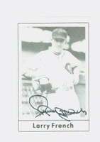 Larry French AUTOGRAPH d.87 1978 Grand Slam Reds 