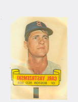 1966 Topps Rub Offs 100 Carl Yastrzemski Boston Red Sox Excellent