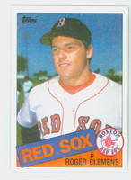 1985 Topps Baseball 181 Roger Clemens Boston Red Sox Near-Mint to Mint