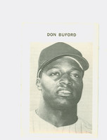 1972 Milton Bradley Baseball 57 Don Buford Baltimore Orioles Near-Mint