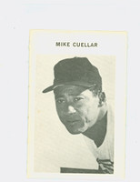 1972 Milton Bradley Baseball 83 Mike Cuellar Baltimore Orioles Very Good