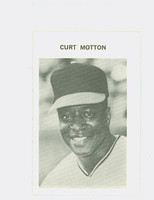 1972 Milton Bradley Baseball 248 Curt Motton Baltimore Orioles Near-Mint Plus