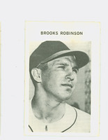 1972 Milton Bradley Baseball 295 Brooks Robinson Baltimore Orioles Fair to Poor