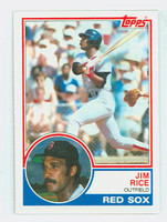 1983 Topps Baseball 30 Jim Rice Boston Red Sox Near-Mint to Mint