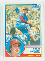 1983 Topps Baseball 70 Steve Carlton Philadelphia Phillies Near-Mint to Mint