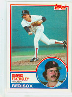 1983 Topps Baseball 270 Dennis Eckersley Boston Red Sox Near-Mint to Mint
