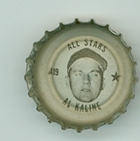 1967 Coke Caps All-Stars 19 Al Kaline Detroit Tigers Excellent to Mint