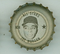 1967 Coke Caps All-Stars 24 n Joe Morgan Houston Astros Excellent to Mint