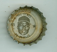 1967 Coke Caps All-Stars 25 Ed Charles Kansas City Athletics Very Good to Excellent