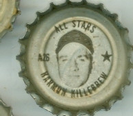 1967 Coke Caps All-Stars 26 Harmon Killebrew Minnesota Twins Excellent to Mint