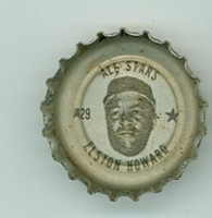 1967 Coke Caps All-Stars 29 Elston Howard New York Yankees Excellent to Mint