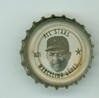 1967 Coke Caps All-Stars 31 Marcelino Lopez California Angels Near-Mint