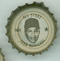 1967 Coke Caps All-Stars 34 n Juan Marichal San Francisco Giants Excellent to Mint