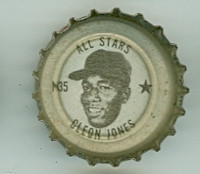 1967 Coke Caps All-Stars 35 n Cleon Jones New York Mets Excellent to Mint