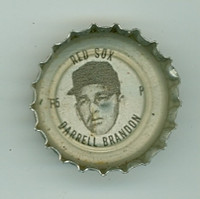 1967 Coke Caps Red Sox 5 Darrell Brandon Boston Red Sox Near-Mint