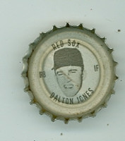 1967 Coke Caps Red Sox 8 Dalton Jones Boston Red Sox Near-Mint
