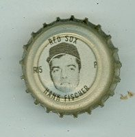 1967 Coke Caps Red Sox 15 Hank Fischer Boston Red Sox Near-Mint to Mint