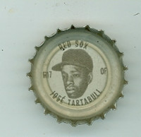 1967 Coke Caps Red Sox 17 Jose Tartabull Boston Red Sox Near-Mint