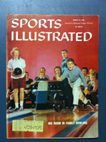 1960 Sports Illustrated March 14 Family Bowling Very Good to Excellent