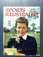 1960 Sports Illustrated August 22 Barbara McIntire (Golfer) Poor [Heavy Moisture - readable]
