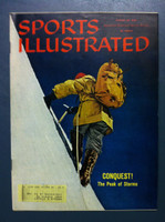 1960 Sports Illustrated August 29 Mountain Climbing Excellent