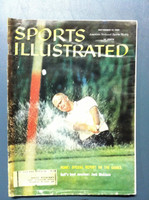 1960 Sports Illustrated September 12 Jack Nicklaus (First Cover) Poor [Heavy Moisture - readable]