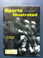 1960 Sports Illustrated October 24 Football Violence Fair to Good [Moisture - readable throughout]