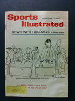 1960 Sports Illustrated November 7 Gourmets Fair to Good [Moisture - readable throughout]