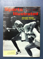 1961 Sports Illustrated February 6 Indoor Track Fair to Good [Lt moisture - readable throughout]