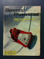 1961 Sports Illustrated February 27 Bobsledding Fair to Good [Lt moisture - readable throughout]