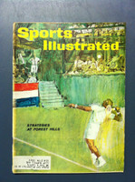1961 Sports Illustrated September 4 US Open Tennis Very Good [Lt moisture - contents fine]