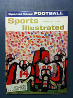 1961 Sports Illustrated September 18 Football Preview Very Good to Excellent