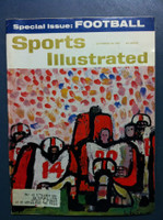 1961 Sports Illustrated September 18 Football Preview Very Good