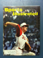 1961 Sports Illustrated October 9 Joey Jay Very Good to Excellent [Lt cover creasing]