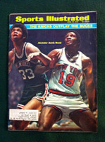 1970 Sports Illustrated April 27 Lew Alcindor and Willis Reed Very Good