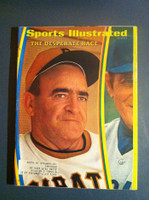 1970 Sports Illustrated Sep 28 Danny Murtaugh (Pirates) Excellent to Mint