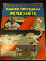 1970 Sports Illustrated October 19 World Series Orioles vs Reds Excellent