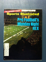 1970 Sports Illustrated November 2 Monday Night Football Excellent to Mint