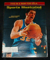 1971 Sports Illustrated April 5 Steve Patterson Excellent to Mint